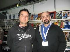 Claudio Sciarrone e io