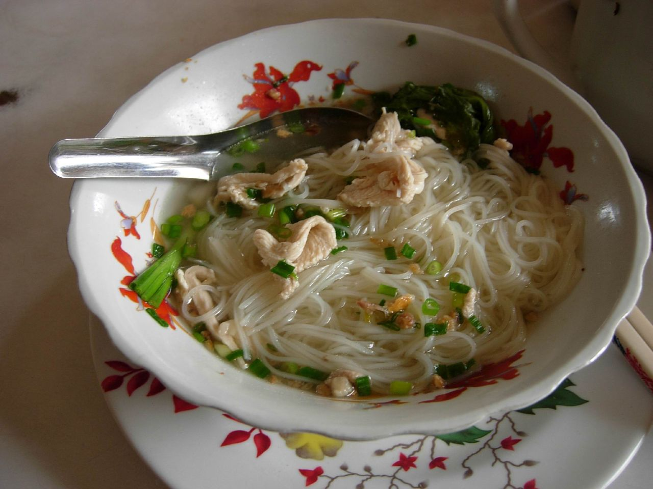 Noodle Soup with Chicken