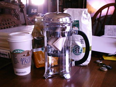 New French Press (shebrews) Tags: coffee frenchpress starbucks