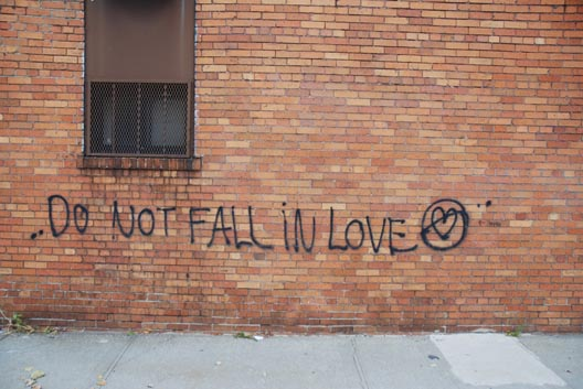 Do Not Fall in Love