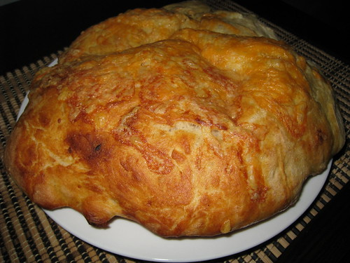 Potato Bread Focaccia with Cheese