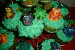 Marzipanimals (dreamknits) Tags: birthday cupcakes marzipan