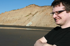 steve on the beach (embem30) Tags: steve fortfunston