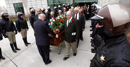 Dnews Funeral of Senator Ed Mayne