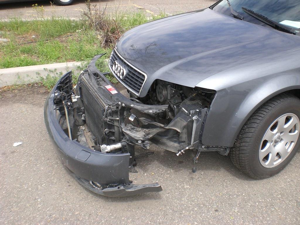 2002 Audi A6 front clip