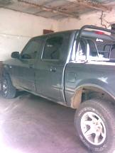 Pick-Up Ford Ranger, involucrada en el accidente