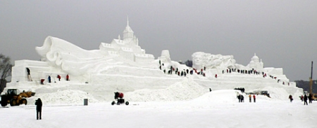 Tallest Snow Sculpture