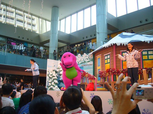 The Barney Show at Marina Square