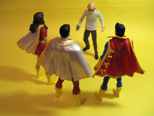 Marvel Family vs. Dr. Silvana
