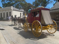 Stage Coach at Sovereign Hill