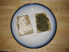 Portobello and Goat Cheese Sandwiches