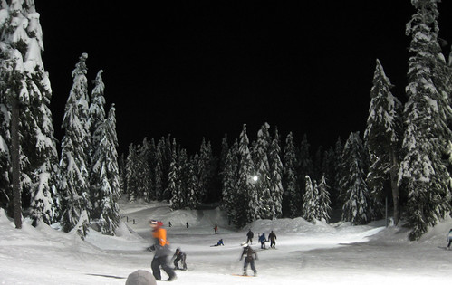 The bunny hill on Mount Seymour. Click here to see full photo album