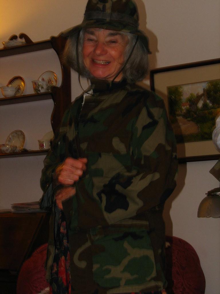 Your Grandmother Wears Camo!