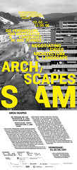 ARCH / SCAPES poster (Swiss Architecture Museum) (evan.chakroff) Tags: evan museum architecture poster swiss evanchakroff chakroff evandagan