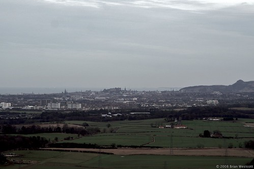 Edinburgh from afar