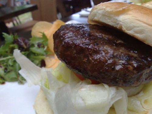 RedDot Beef Mushroom Burger