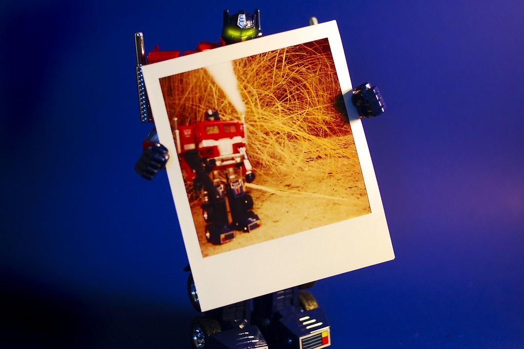 a Prime Polaroid