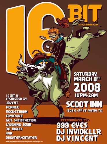 16Bit SXSW Party