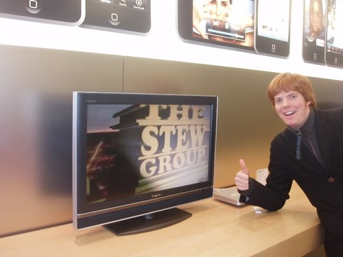 STEW in de Apple Store