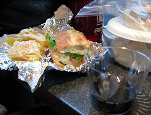 lunch on the train