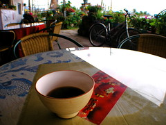 4.5K咖啡館奉上一碗潽洱茶(台東池上萬安村富興村)
