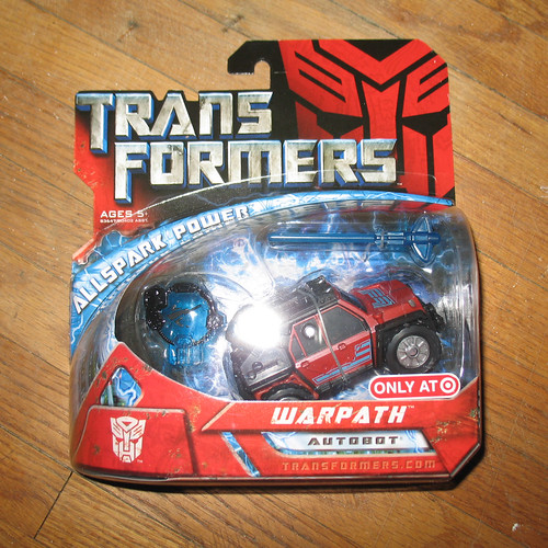 Transformers Movie Warpath (Target Exclusive)