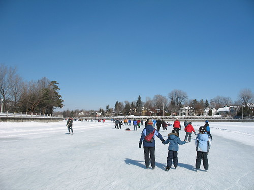 Skating the Rideau