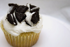Cookie's and Cream Cupcake