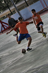 Playing Football by Chiara CC, on Flickr