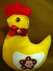 Pintaínhos (Yellow chicks) (Oh!.. So cute!) Tags: yellow easter cottage amarelo páscoa chicks feltro pintos artesanado pintaínhos