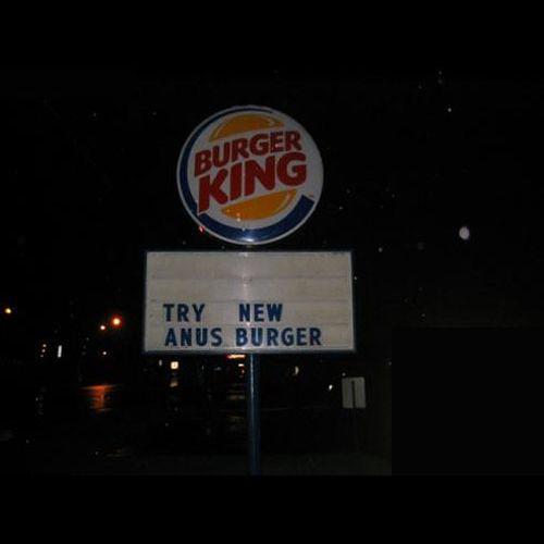 New Anus Burger