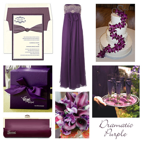 Keywords tastefullyentertainingblogspot com purple wedding color theme
