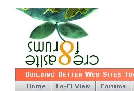Cre8asite Forums April 1st Logo