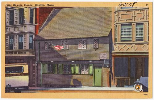 Paul Revere House, Boston, ca. 1930s