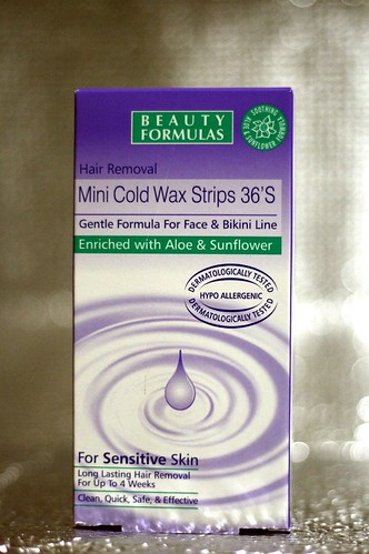 Beauty Formulas Hair Removal Mini Cold Wax Strips