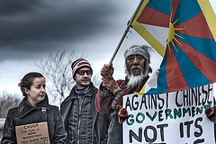 Tibet (shawn peps) Tags: china news media map ottawa report tibet cnn olympics blackout protests tone blackouts advocacy