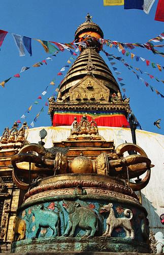 Swayambunath Stupa, Kathmandu Nepal by SaveTibet.