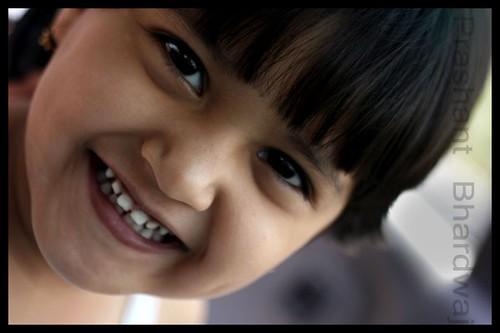 When you make a child smile