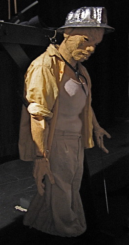 Puppet from Woyzeck on the Highveld