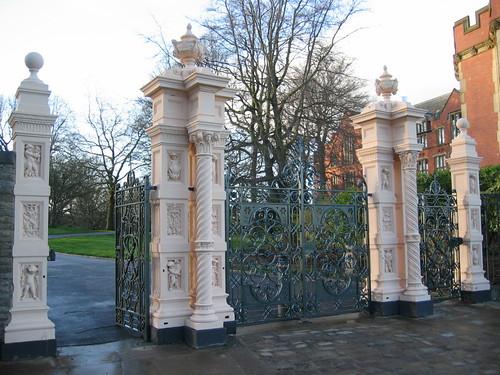 Weston Park Gates