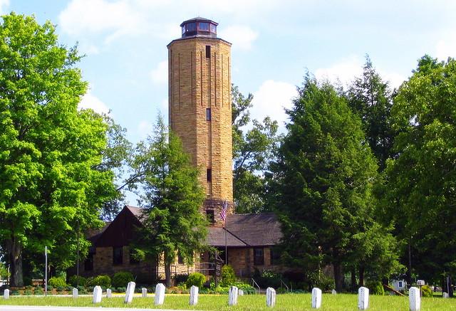 Homestead museum & water tower