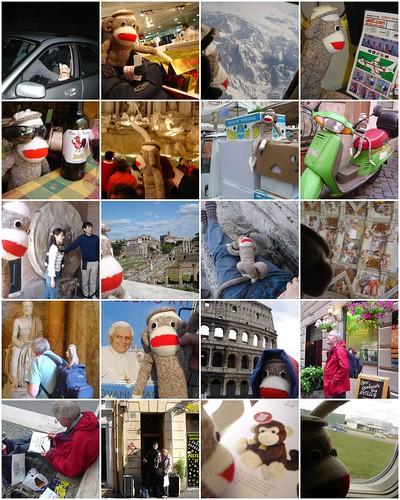Renaldo goes to Rome Mosaic