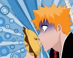 Ichigos First Kiss