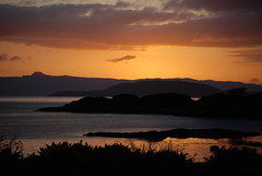 Sunset, Kyle Lochalsh (andy_jc_boyle) Tags: scotland sunsetsunrise northernhighlands lochlake