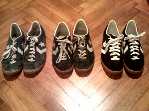 I'm not addicted to a specific shoe model. No, not all;-)