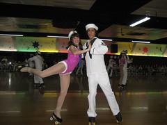 A skating champion and her seaman. (05/17/2008)
