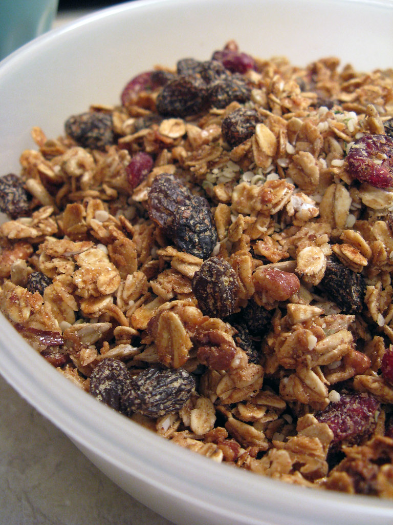 Kick-Ass Granola