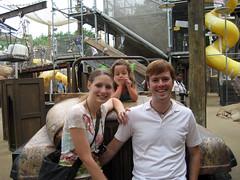 ian tammy and elena at animal kingdom
