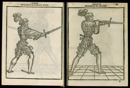 L'arte de l'Armi by Achille Marozzo, 1536 f