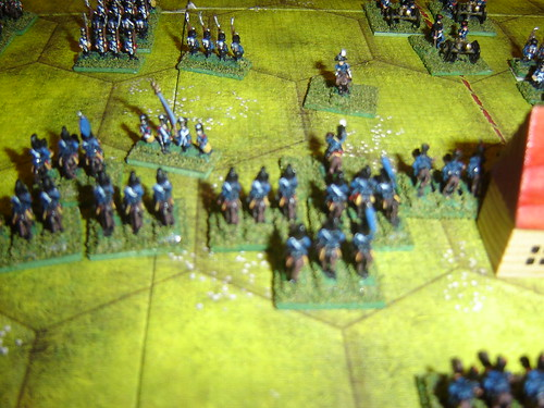 Gallant charge destroys French infantry division